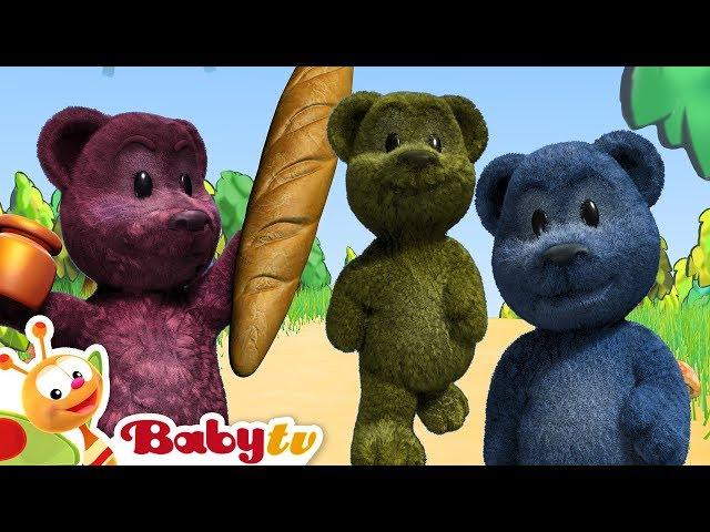 The Bears 🐻🐻 | BabyTV