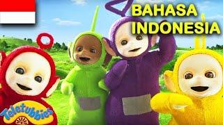 ★Teletubbies Bahasa Indonesia★ Tertinggi Terpendek - Bergulir - Conga | Kompilasi ★ Kartun Lucu HD