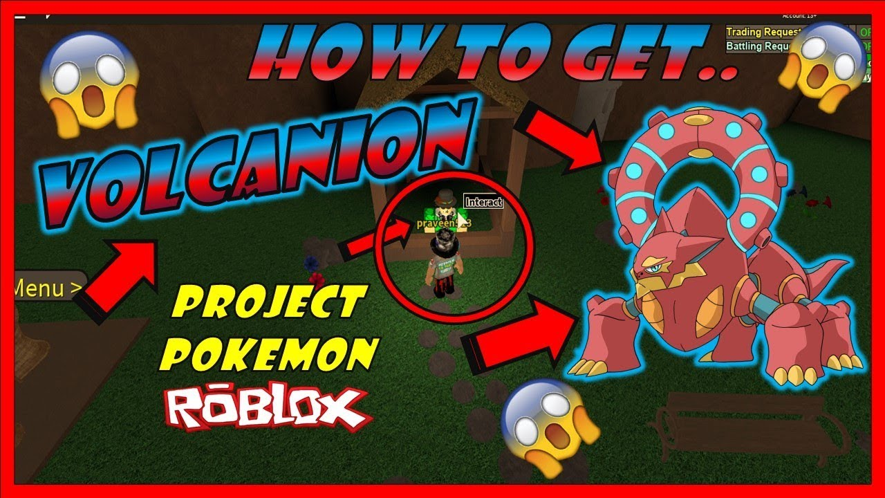 Update How To Get Volcanion In Project Pokemon Projectpokemon Roblox - roblox project pokemon fastest easiest way to upload