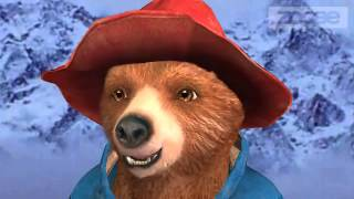 Paddington The Bear  gives a Snow Report: Ski sled shred skate