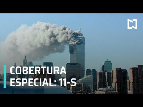EN VIVO: Atentados del 11 de Septiembre de 2001; a 20 años de la caída de las Torres Gemelas