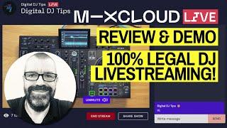 Mixcloud Live Review & Demo - 100% Legal DJ Set Live Streaming - No Copyright Issues! screenshot 2