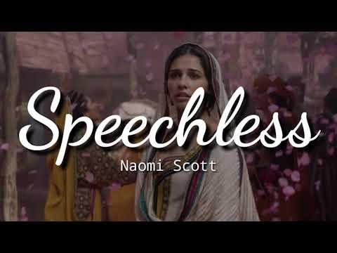 Naomi Scott - Speechless (Full From Aladdin) Lyrics | Terjemahan Indonesia