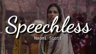 Naomi Scott - Speechless (Full from Aladdin) Lyrics | Terjemahan Indonesia