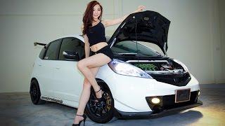 Honda Jazz Hybrid with Mavis Kee