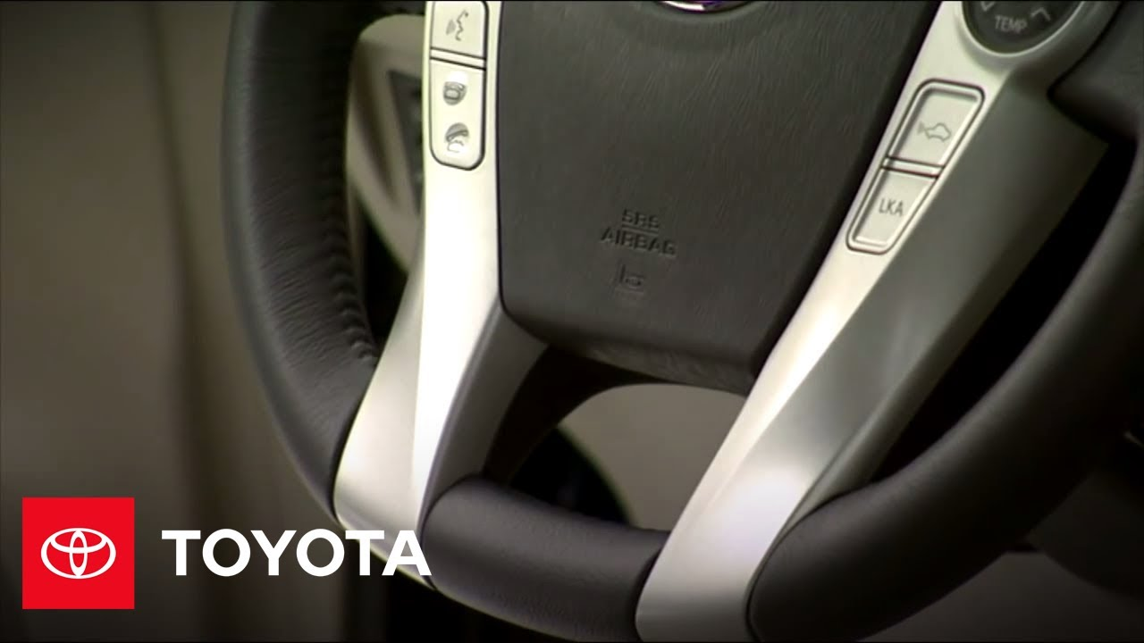 2010 Prius How-To: Safety & Security | Toyota