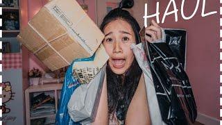เห่อเฮ้อ(Haul) NYX,Watsons,Beauty buffet,Boots,ตลาดนัด,daiso พร้อมแกะกล่องที่สั่งมา lpang orada