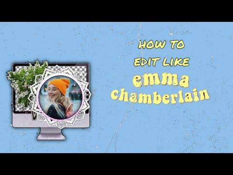 How to edit like Emma Chamberlain | Aileen Daniell