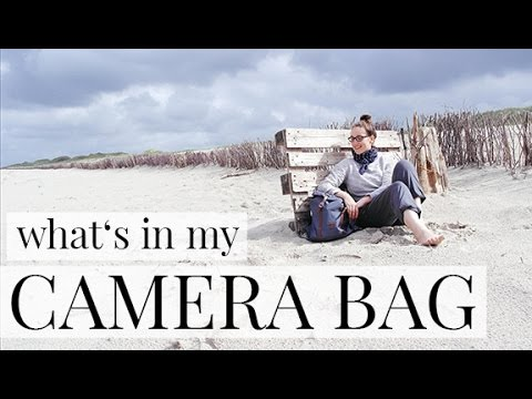 WHATS IN MY CAMERA BAG I Travel Edition