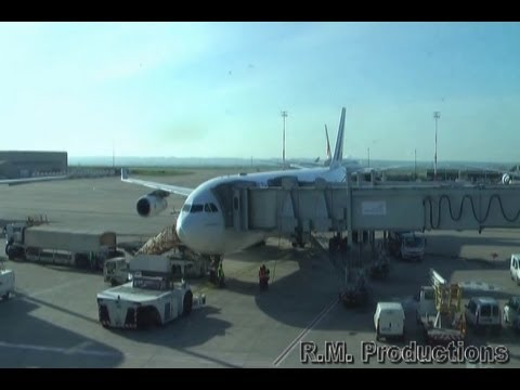 Paris CDG to Princess Juliana International - Air France Airbus A340-300 01-04-12
