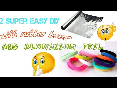 Unique rubber band craft decoration idea# diy project on my diy ideas