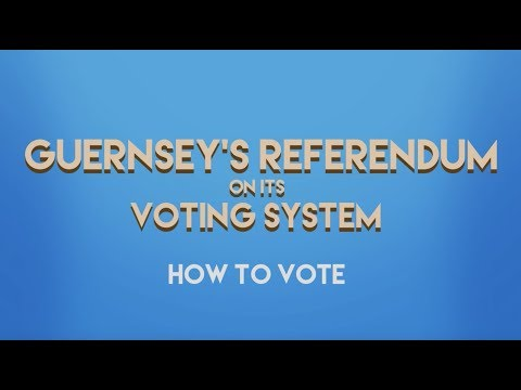 Referendum on Guernsey's Voting System