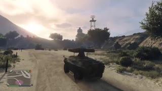 Gta5  GUNRUNNING APC Build : Desert Strike Support!