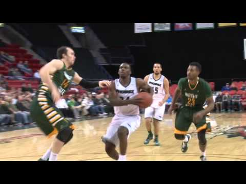 Charles Cooper POSTERIZES Defender in Green Bay Phoenix Win over Wright State