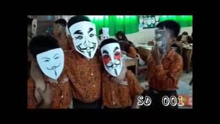 Mannequin Challenge Kelas V SDN 001 Sungai Penuh (Topeng)