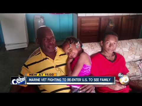 MORNING NEWS - Veteran Fighting To Get Back Into Country To See Family