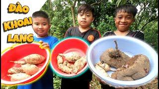 Tony | Cả Team Vào Rừng Đào Khoai - Collect Sweet Potato