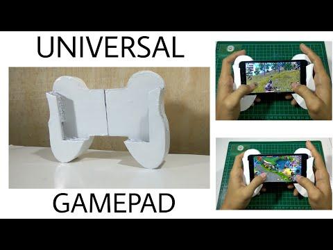 Yuk Buat GamePad 🎮 Sendiri! Cocok Buat Kalian Yang Suka Main Game   DIY UNIVERSAL GAMEPAD V.0.1
