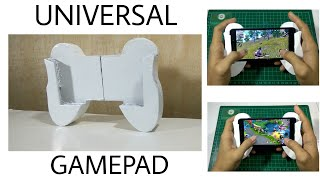 How to make universal GamePad for smartphone