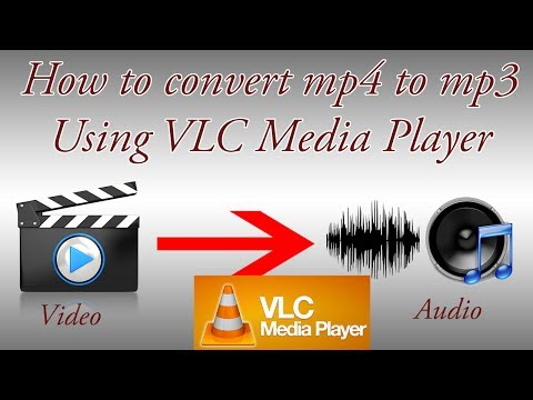 How to Convert Video/mp4 to mp3/Audio Using the VLC media player in Hindi / Urdu.