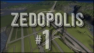 Zedopolis #1 - District Planning - Cities:Skylines After Dark