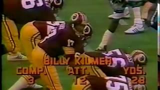 1977 Week 5 Washington Redskins at Dallas Cowboys 2nd half