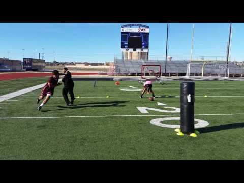 Jeremiah Fletcher Agility drills