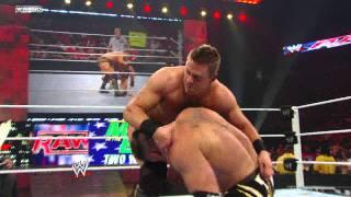 Raw: Alex Riley vs. The Miz.