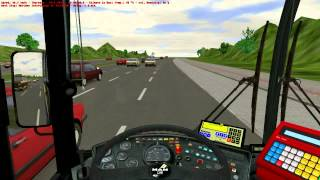 Omsi Bus simulator, Highway map route X50