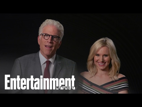 Kristen Bell & Ted Danson Explain 'The Good Place' Using Six Random Words  Entertainment Weekly