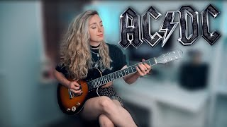 SHOOT TO THRILL - AC/DC   Guitar Cover by Sophie Burrell
