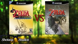 The Wind Waker VS Twilight Princess | Which is the better Legend of Zelda? | Shotana Studios VS