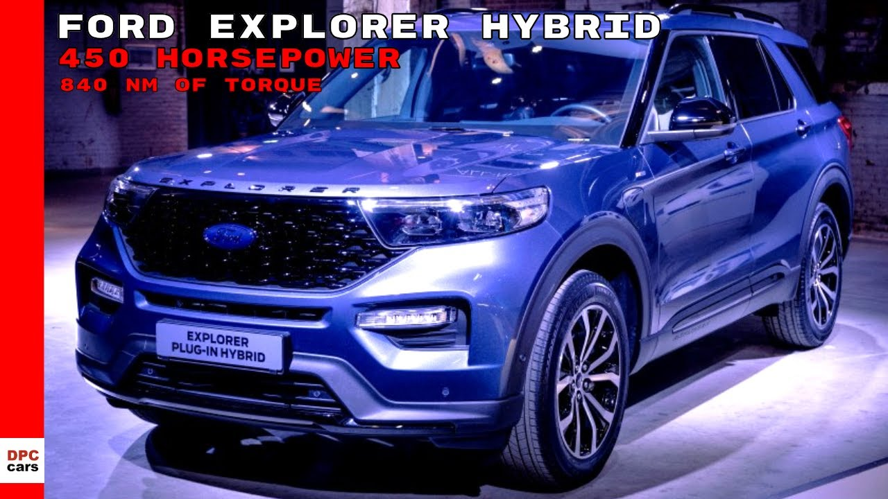 Ford Explorer Plug In Hybrid Eu Spec 2020