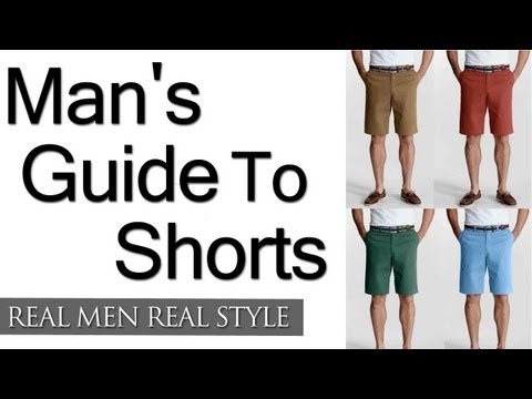 a-man's-guide-to-shorts---how-to-wear-shorts---wearing-men's-shorts-with-style