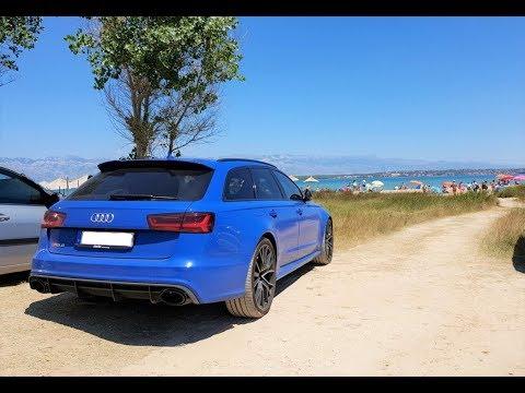 Summer Roadtrip In Audi RS6 Part.10 'Nin Beach Croatia' 4K