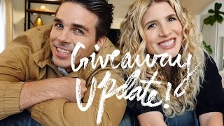 #MrKate1Million Giveaway Update from Kate and Joey