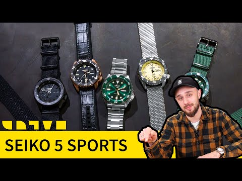 Обновленная Seiko 5 Sports – достойный наследник Seiko Skx007 или жалкая пародия?