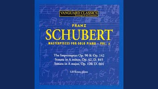 Impromptus, Op. 90, No. 1 in C Minor, Allegro molto moderato