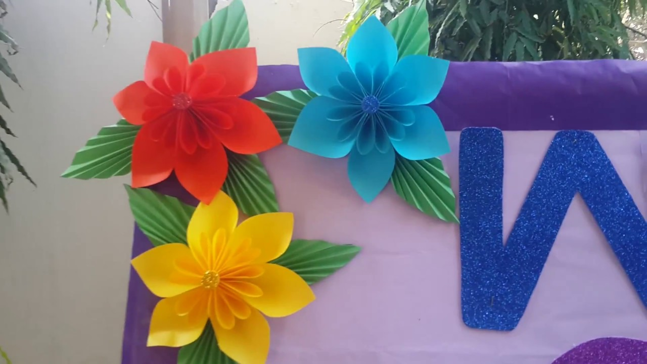 Classroom Decoration Ideas For Pre Primary School ~ Bulletin board idea for school ptm parent teacher meeting