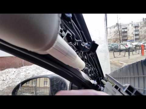 Как разобрать боковую стойку Chevrolet Cruze