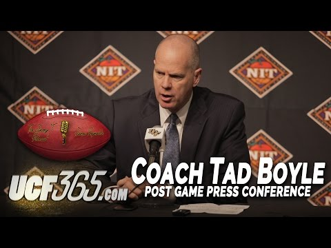 Coach Tad Boyle - UCF vs Colorado NIT Post Game Interview