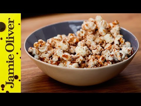 100 Calorie Popcorn Snack | Jamie Oliver