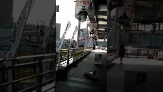 登戸駅宣伝 thumbnail