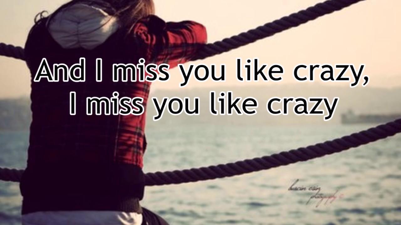 Miss You Like Crazy By Natalie Cole Lyrics Youtube