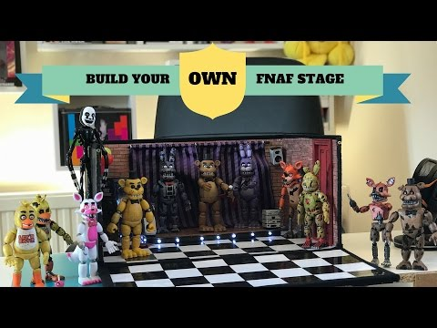 How To Make A Five Nights At Freddy's Pizzeria Playset For Your Custom Funko Figures