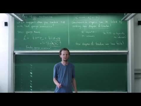 Advanced quantum field theory, Lecture 17