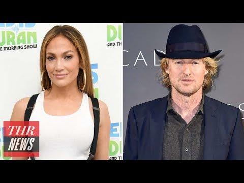 Jennifer Lopez Joining Owen Wilson for Rom-Com Film 'Marry Me' | THR News