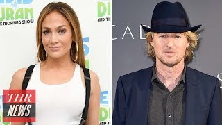 Jennifer Lopez Joining Owen Wilson for Rom-Com Film 'Marry Me' | THR News