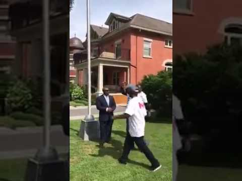 Southern Cameroonians takes over Embassy in Canada, hoist flag and made a historic declaration