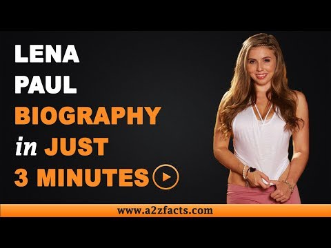 Lena Paul – Age, Birthday, Biography, Husband, Net Worth and More